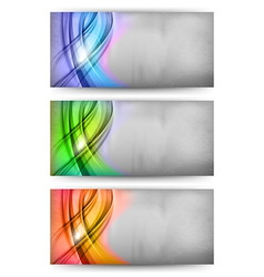 abstract card vector image vector image