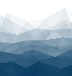 Blue Trendy Background vector image vector image