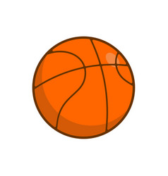Basketball ball isolated balls for games on white vector