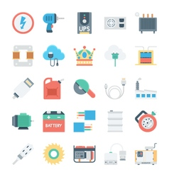 Energy and Power Icons 5 vector image