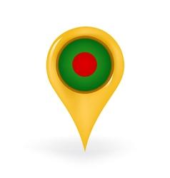 Location Bangladesh vector