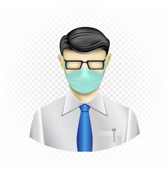 Masked human template vector