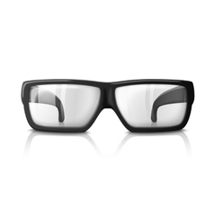 Realistic glasses isolated on vector