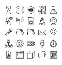 User interface icons 5 vector