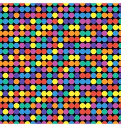 Bright colorful seamless pattern vector image