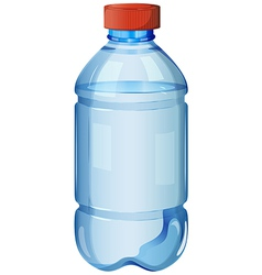A bottle of safe drinking water vector