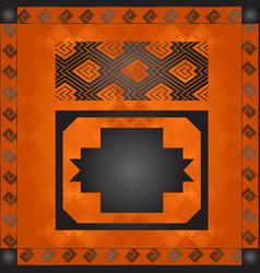 African national cultural symbols vector