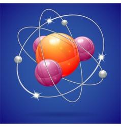 Atom Model vector image