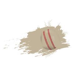 baseball ball icon with an effect vector image