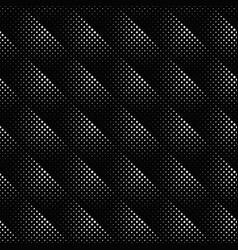 black and white geometrical seamless square vector image