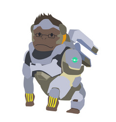 Blizzard winston overwatch clipart vector