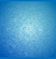 Blue light mosaic abstarct background vector