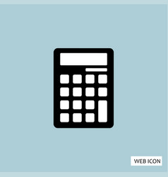 calculator icon calculator icon eps10 calculator vector image
