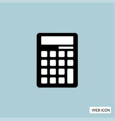 calculator icon calculator icon eps10 calculator vector image