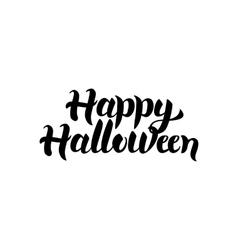 Happy Halloween Lettering vector