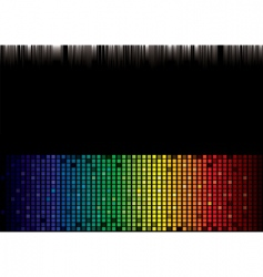 rainbow spectrum background vector image