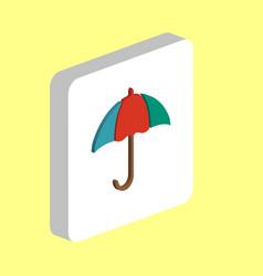 umbrella computer symbol vector image