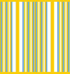 vertical yellow and blue stripes print vector image