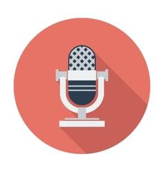 Icon vintage microphone vector image vector image