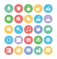 Communication Icons 2 vector image