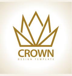 crown royal icon vector image