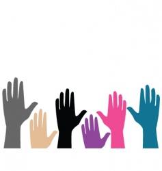 2008689 hands vector image