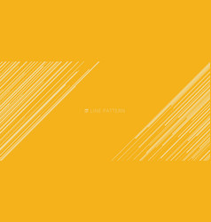 banner web template abstract light yellow vector image