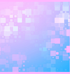 blue purple white pink glowing rounded tiles vector image