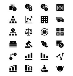 Finance Solid Icons 2 vector