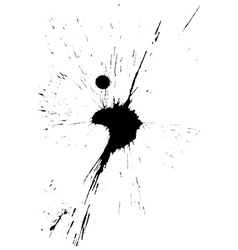 Ink blot vector image