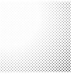 monochrome halftone diagonal square pattern vector image