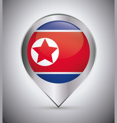 north korea design vector image