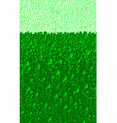 Patricks day beer vector