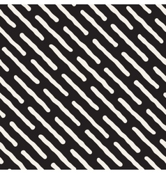 Seamless Black And White Diagonal Lines vector