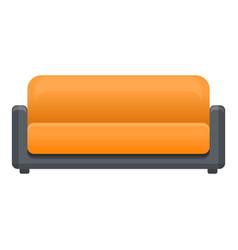 textile sofa icon cartoon style vector image