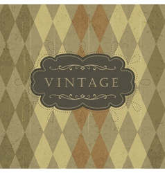 vintage circus background vector image vector image