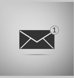 received message concept new email vector image vector image