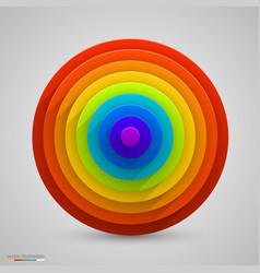 Spherical rainbow vector