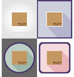 delivery flat icons 03 vector image