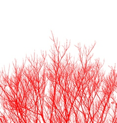 Abstract Twigs vector