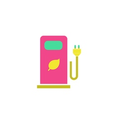 Bio gas Icon vector image