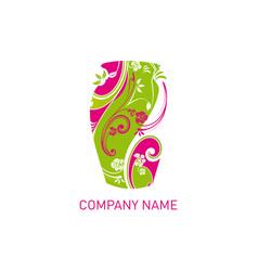 flower shop design vector image