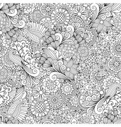 full frame outline elegant seamless pattern vector image