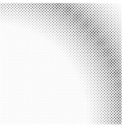 monochrome retro halftone diagonal square pattern vector image