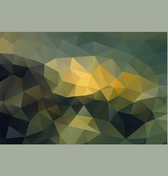 Polygon background dark ground vector
