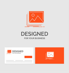 business logo template for gallery image vector image