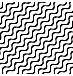 diagonal stripes waves geometric pattern vector image