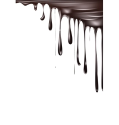 Falling chocolate background vector image