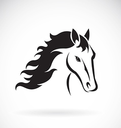 images of horse head design vector image