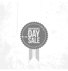 independence day 4th july sale flat emblem vector image
